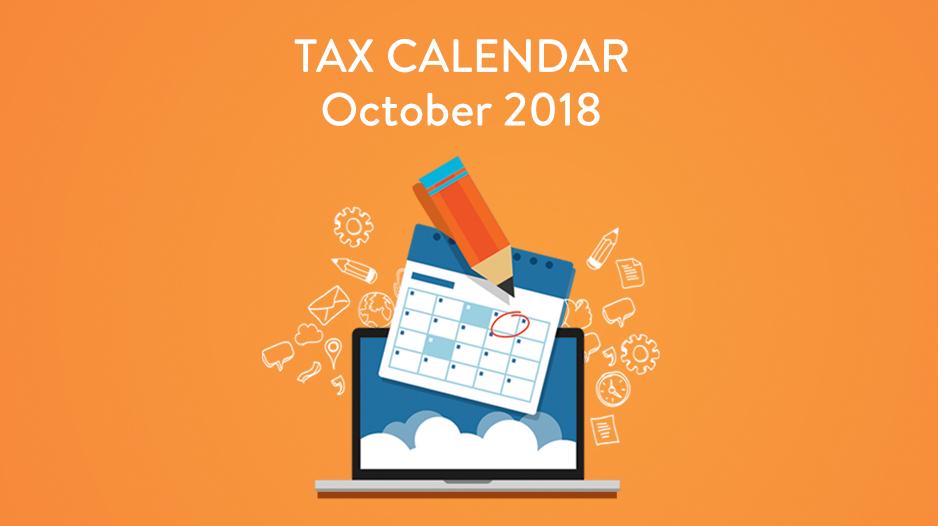 Tax Calendar | CloudCfo