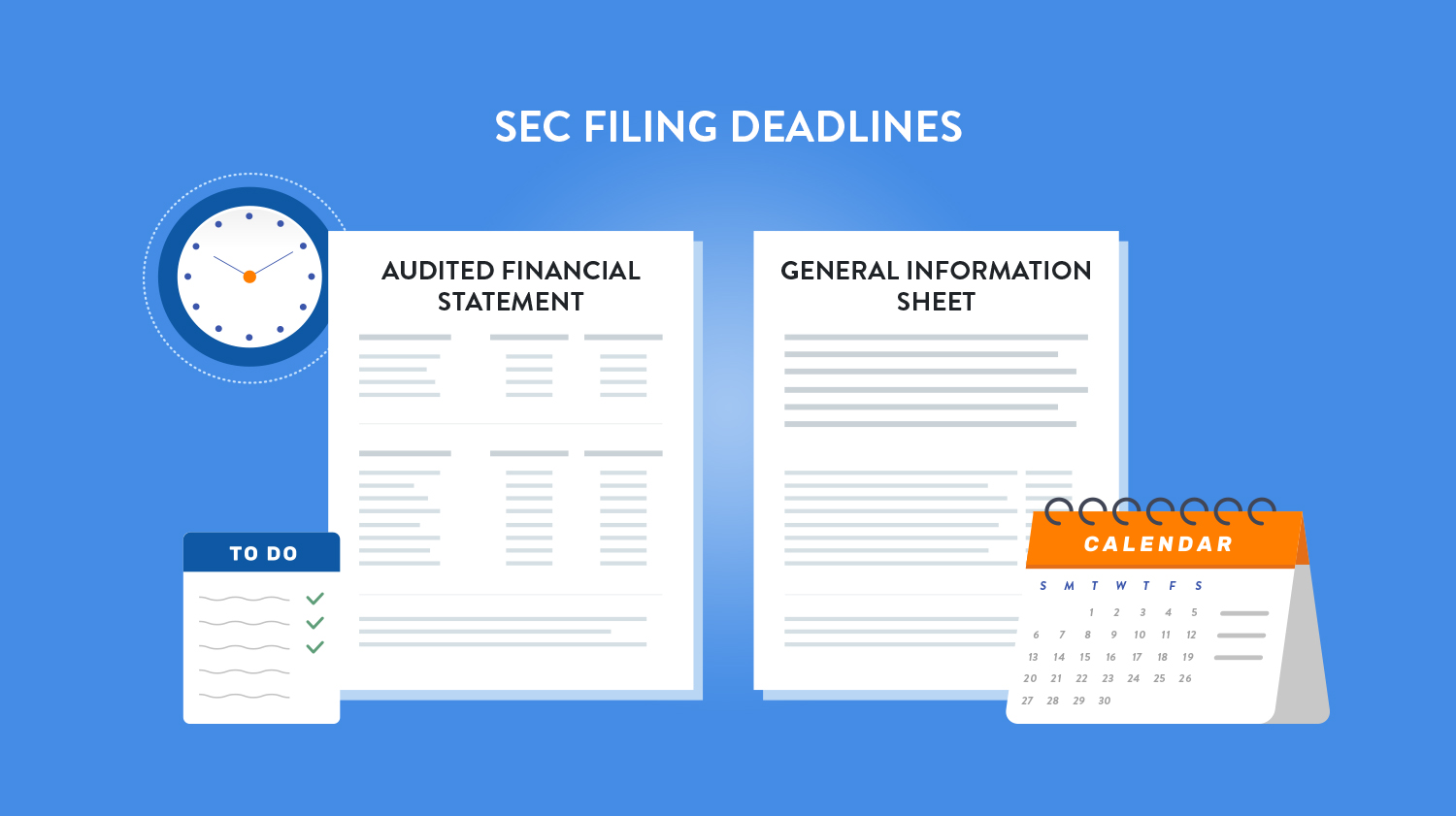 SEC deadlines are coming: File your AFS and GIS on time in 2019