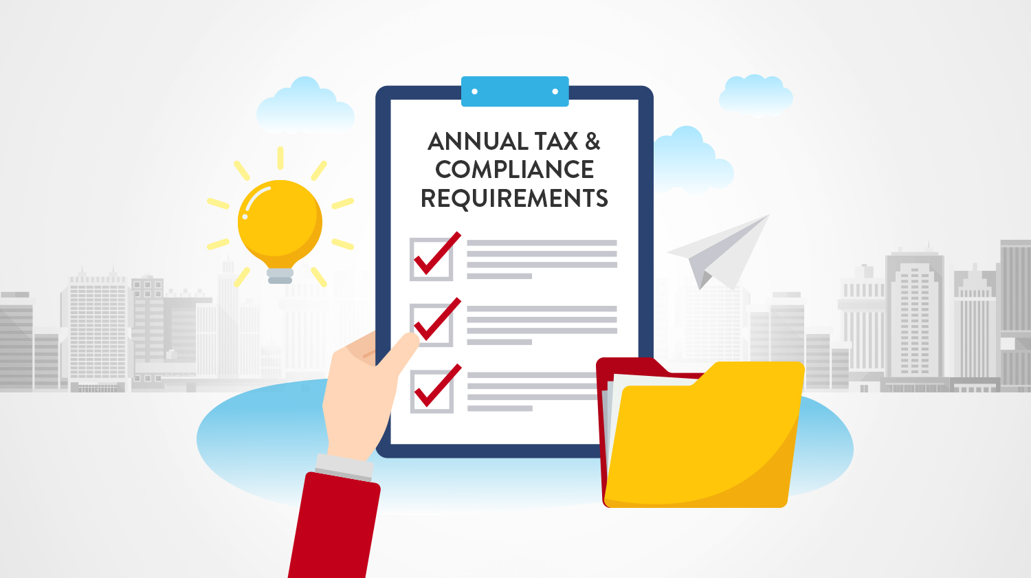 Don't forget about your annual tax and compliance deadlines this January