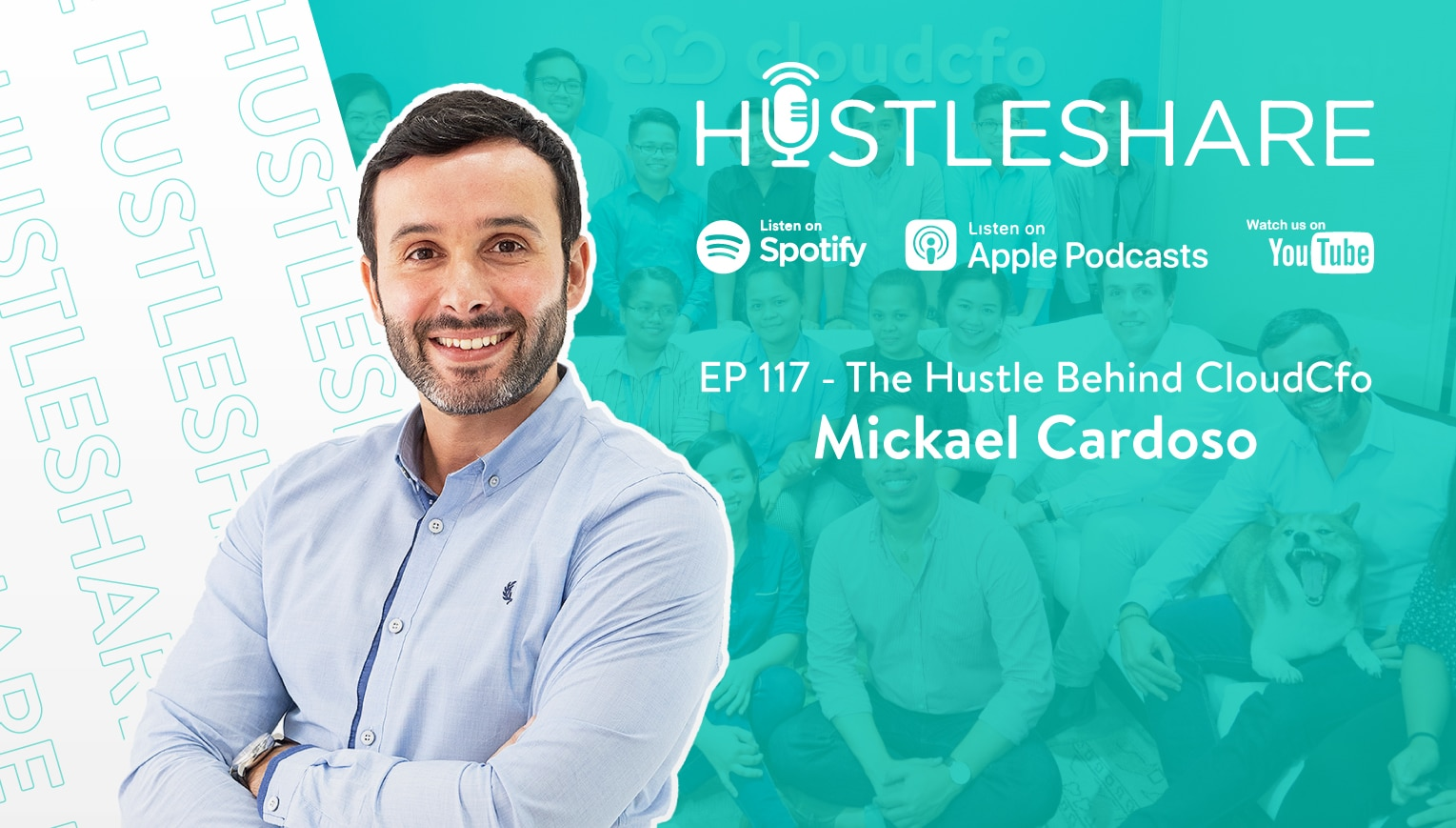 A Podcast: The Hustle Behind CloudCfo